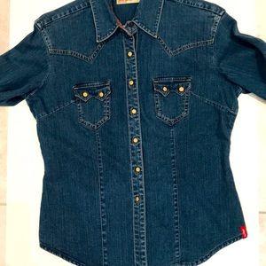 Levi's Womens Ultimate Western Jean Shirt